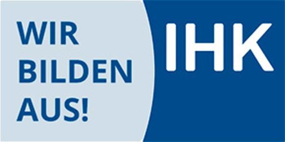 Logo der IHK mit dem Zusatz